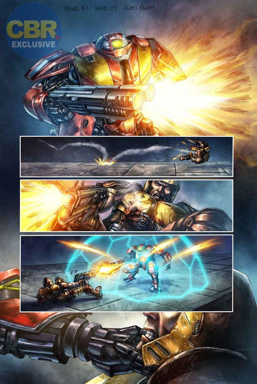 Quake Champions doplní série komiksů 147089