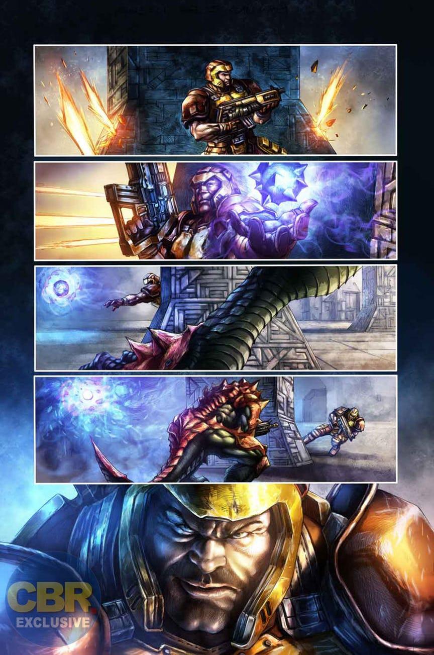 Quake Champions doplní série komiksů 147091