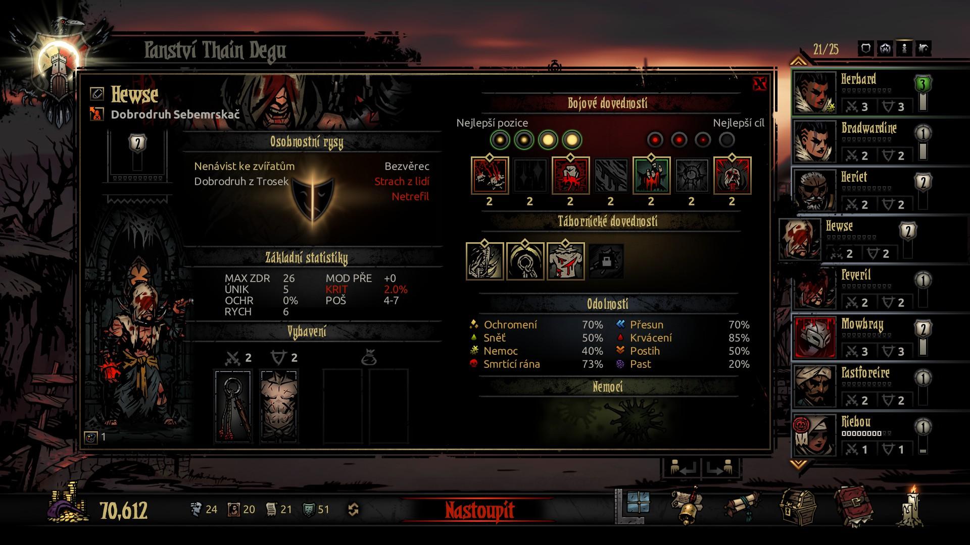 Darkest Dungeon: The Crimson Court - Fotospeciál z upířího panství 147136