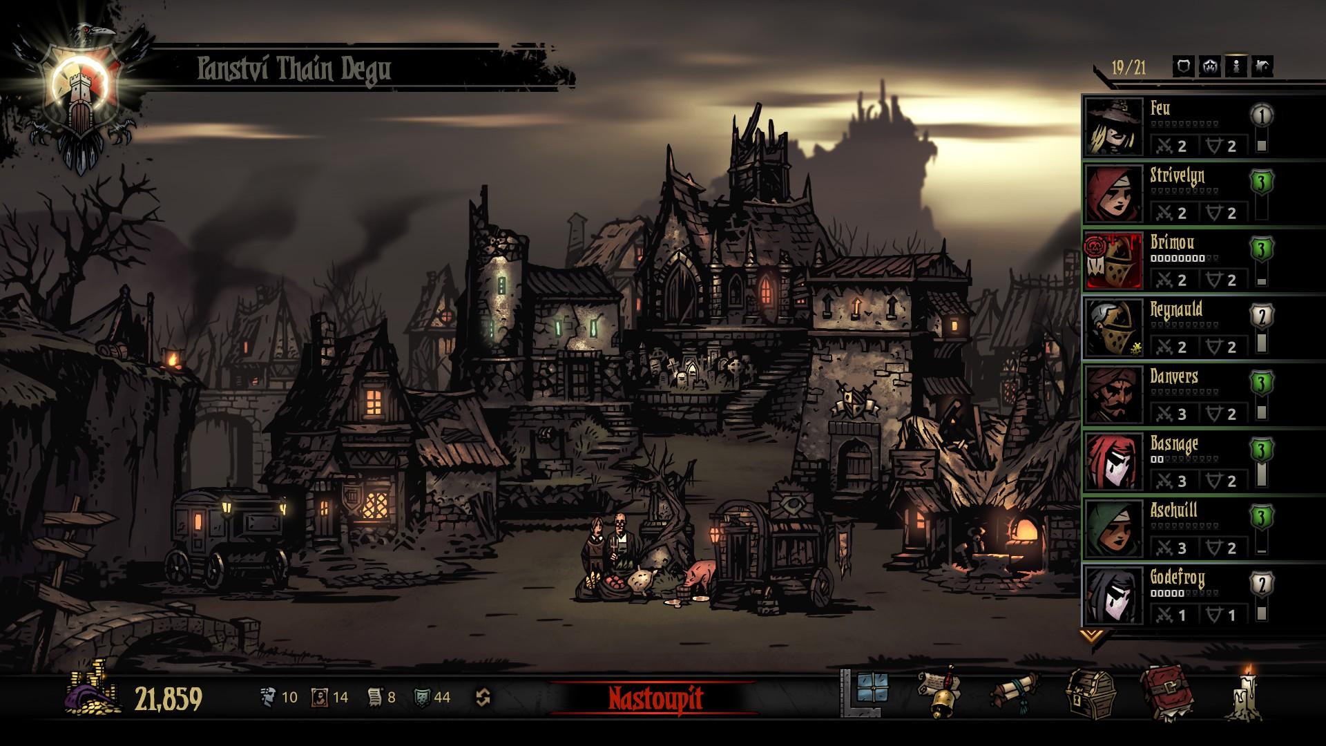 Darkest Dungeon: The Crimson Court - Fotospeciál z upířího panství 147150