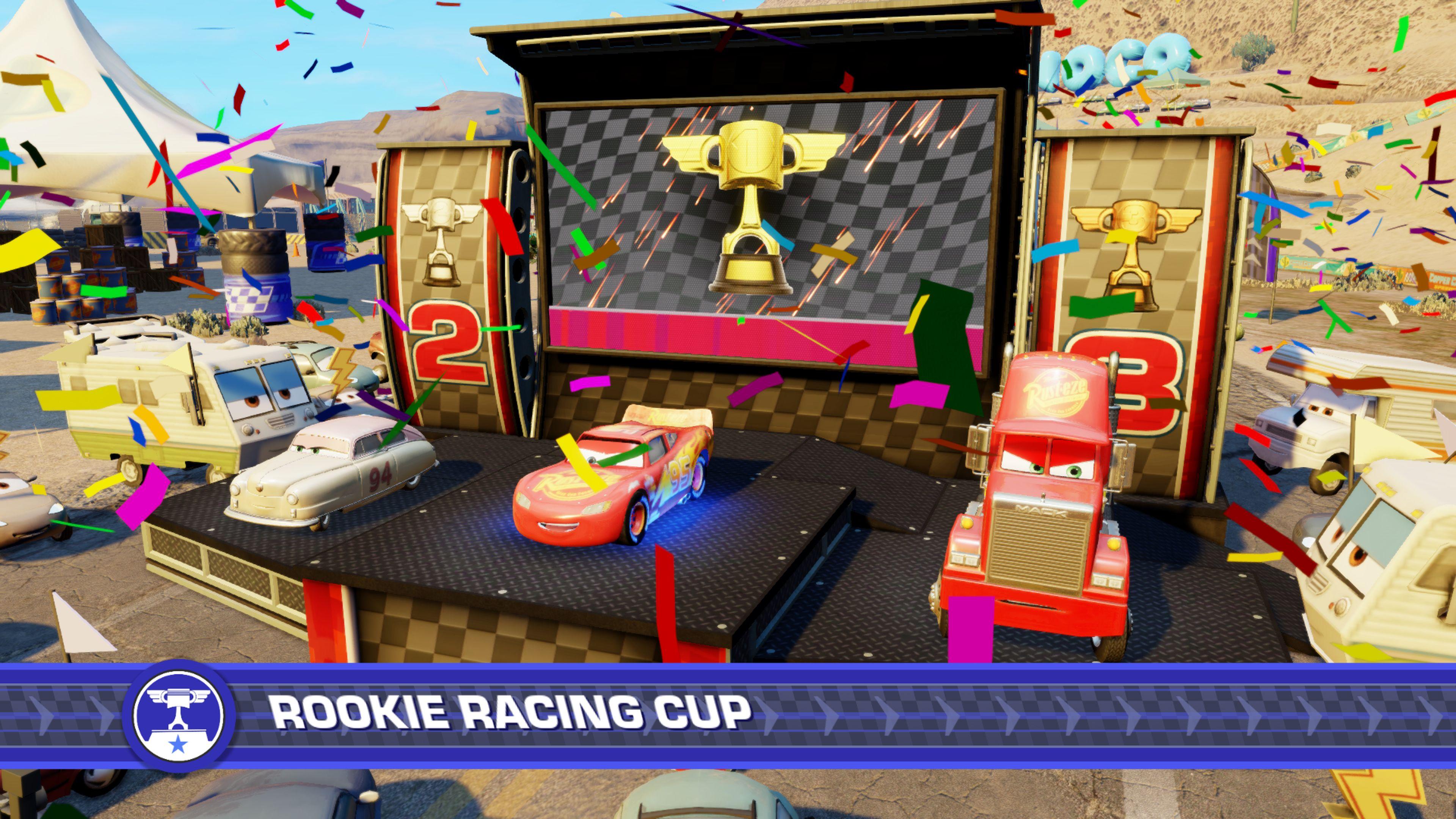 Cars 3: Driven to Win – hravé, přesto brutální závody 147164