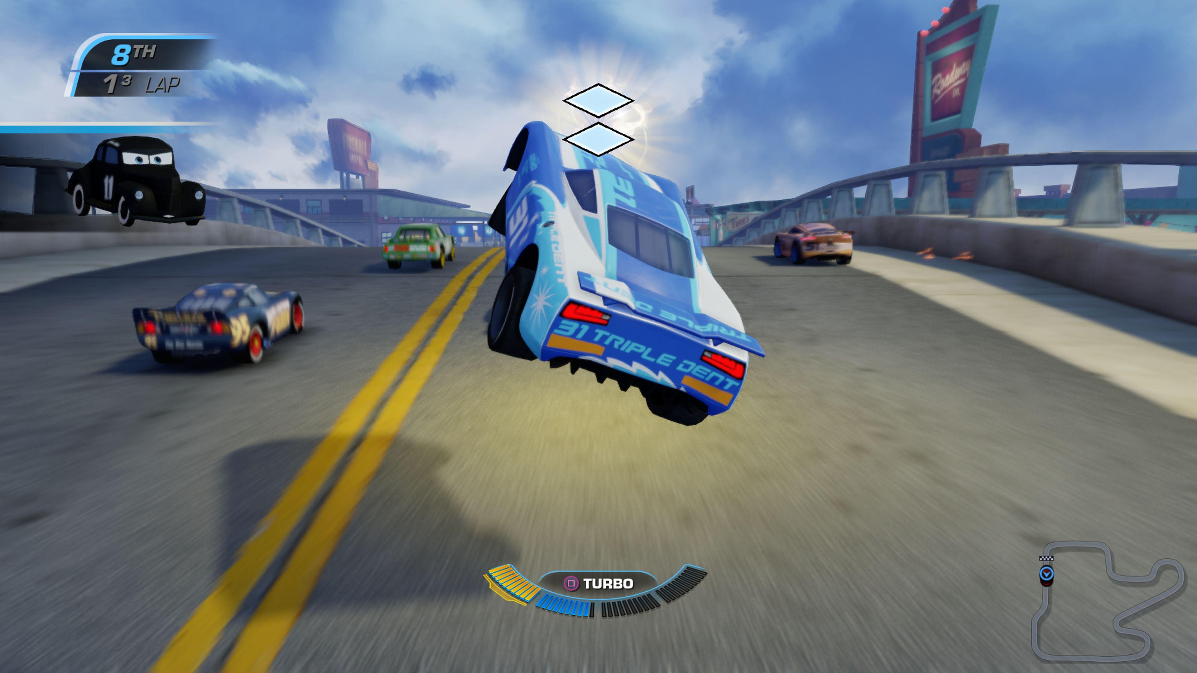 Cars 3: Driven to Win – hravé, přesto brutální závody 147182
