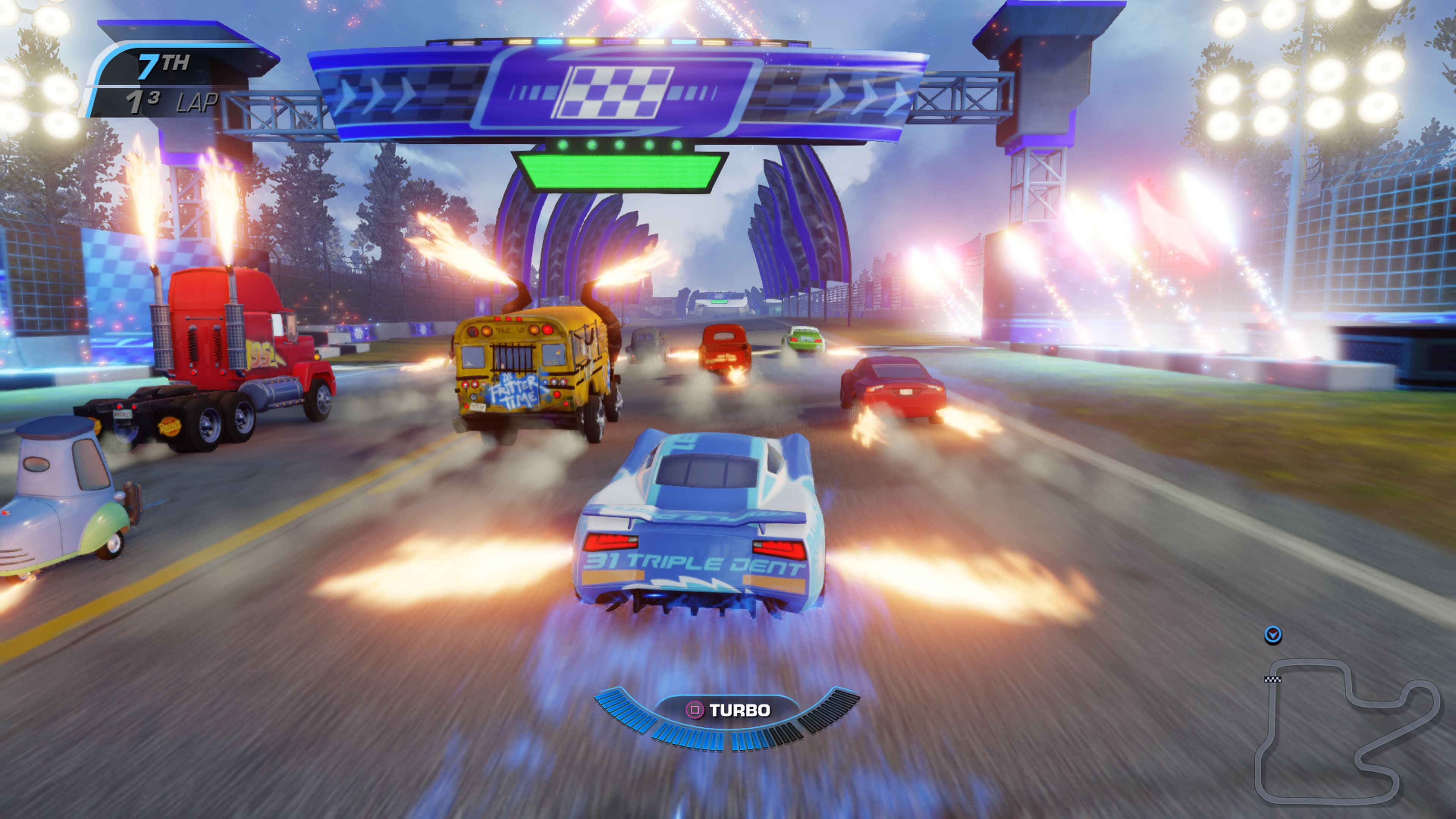 Cars 3: Driven to Win – hravé, přesto brutální závody 147183