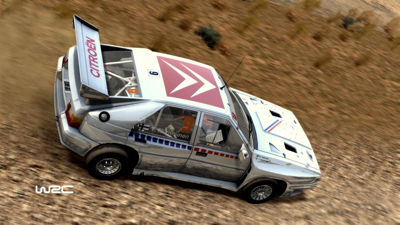 WRC nabídne kultovní vozy z 80. let 14725