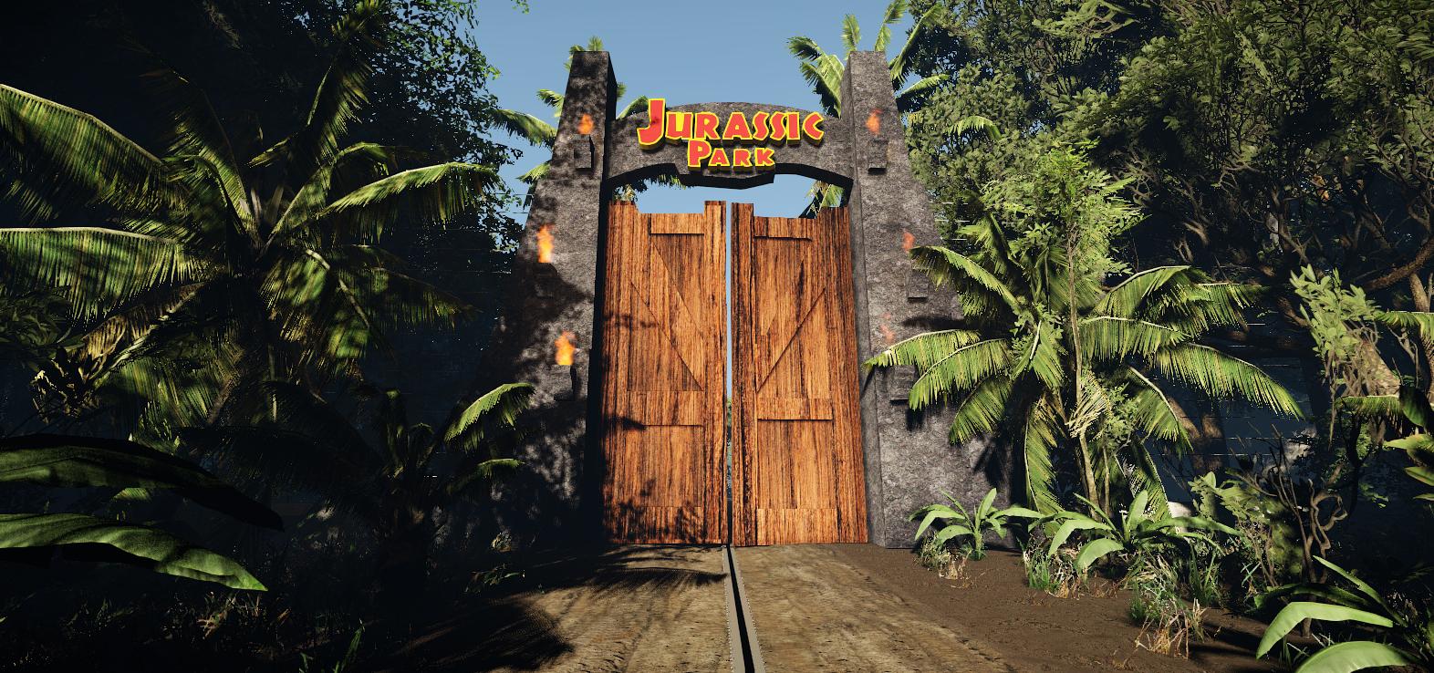 Ve vývoji je fanouškovská hra z prostředí Jurského parku 147329