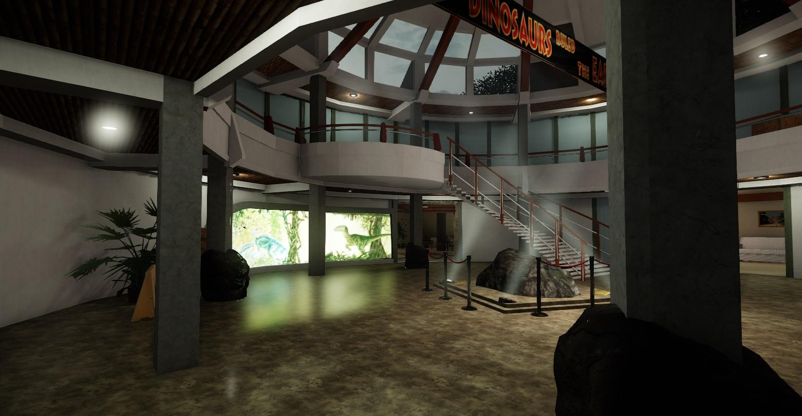 Ve vývoji je fanouškovská hra z prostředí Jurského parku 147334