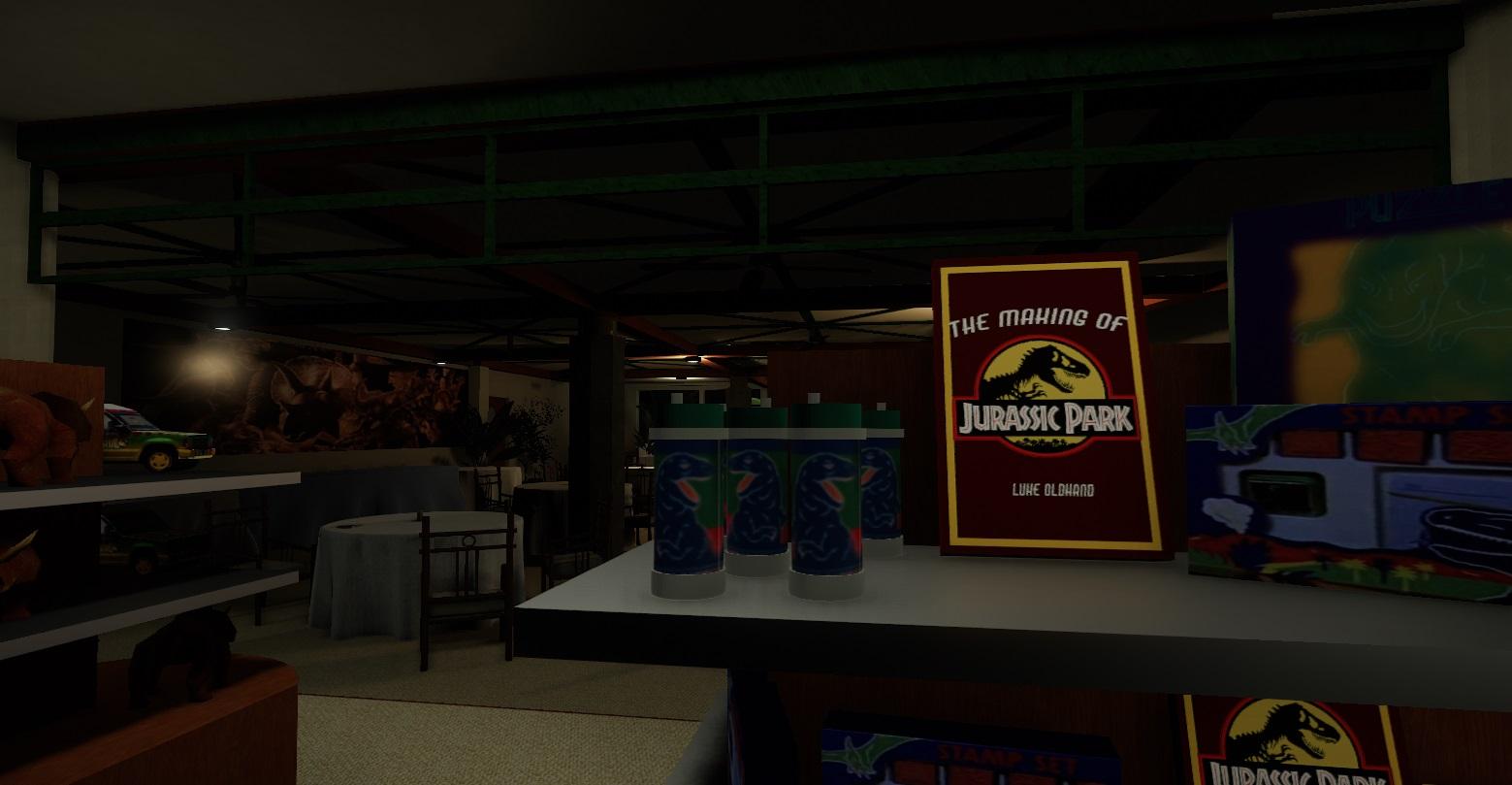 Ve vývoji je fanouškovská hra z prostředí Jurského parku 147335