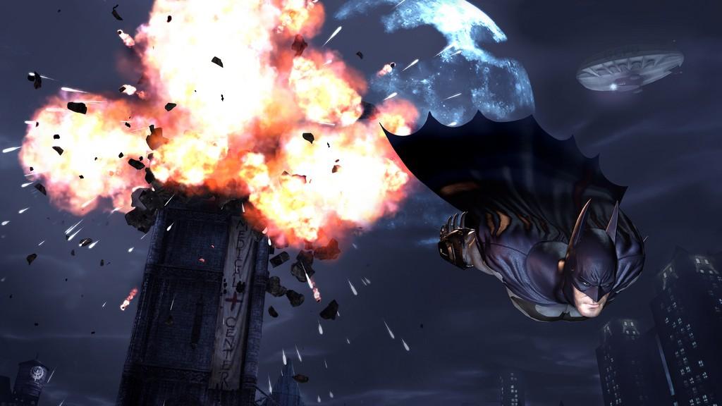 Batman: Arkham City na premiérových obrázcích 14739