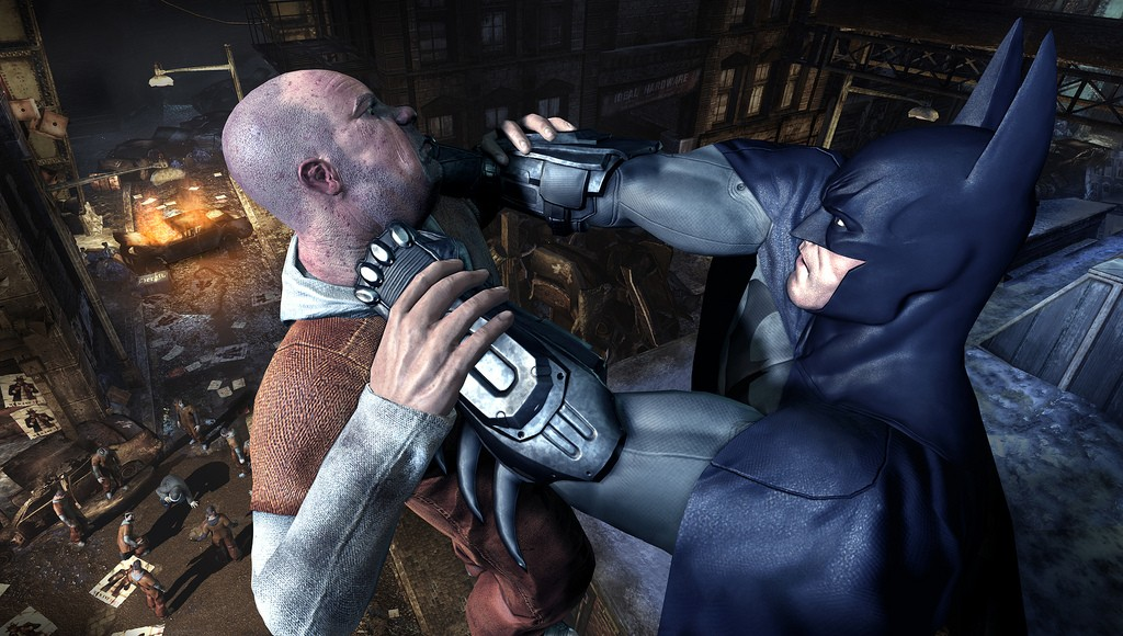Batman: Arkham City na premiérových obrázcích 14743