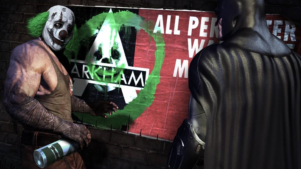Batman: Arkham City na premiérových obrázcích 14744