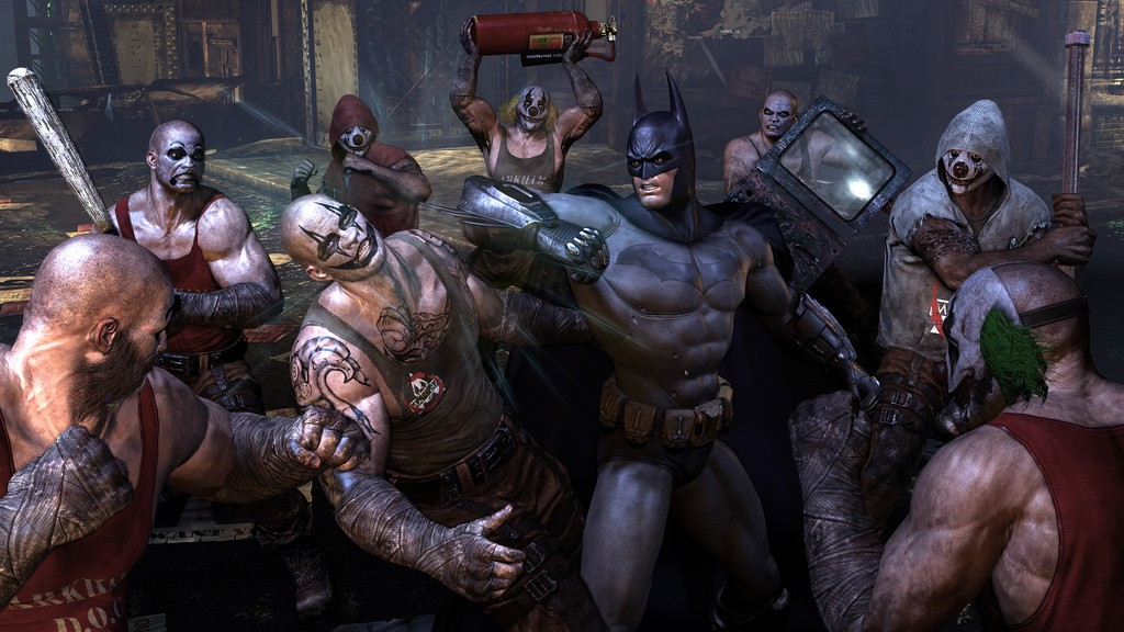 Batman: Arkham City na premiérových obrázcích 14746