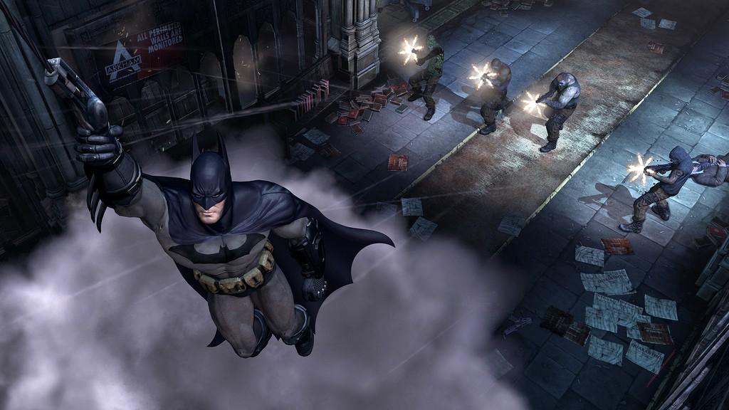 Batman: Arkham City na premiérových obrázcích 14749