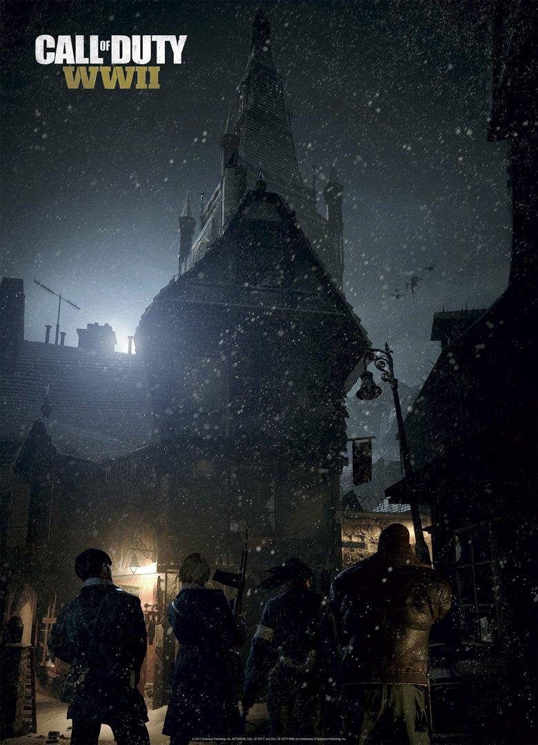 V zombie módu Call of Duty: WWII budeme sledovat rodinné drama a honbu za ztraceným uměním 147511