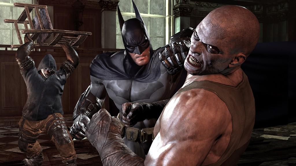Batman: Arkham City na premiérových obrázcích 14753