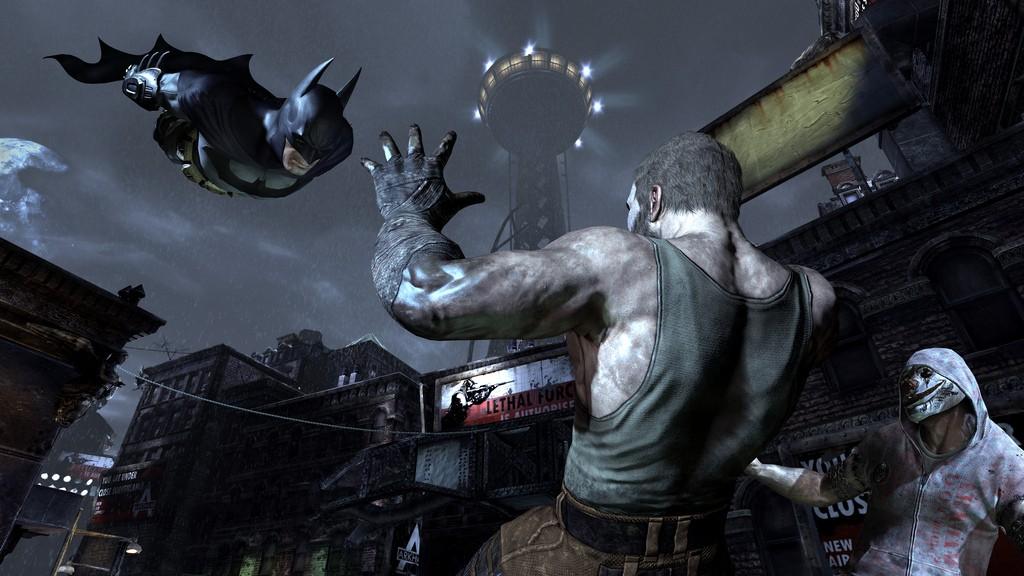 Batman: Arkham City na premiérových obrázcích 14756