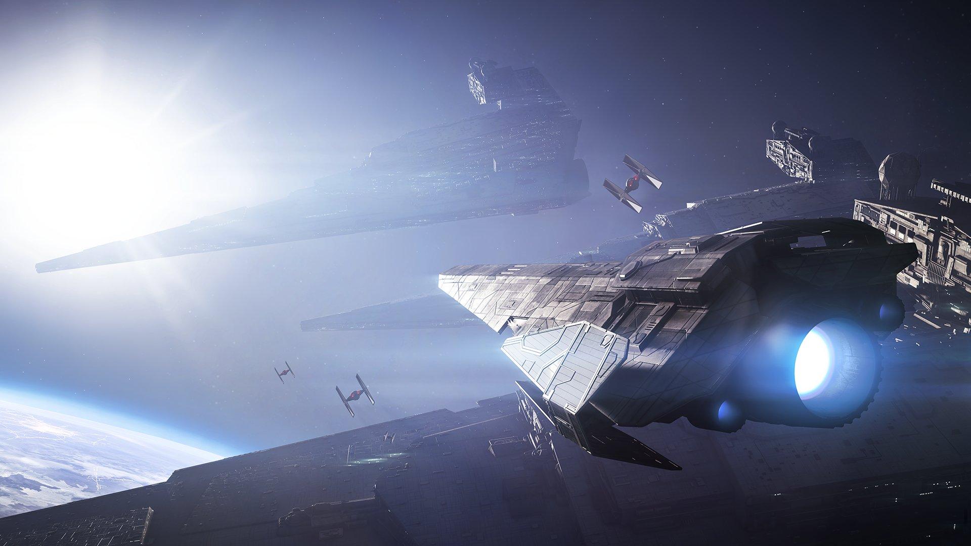 Unikají detaily o vesmírných bitvách Star Wars: Battlefrontu 2 147562