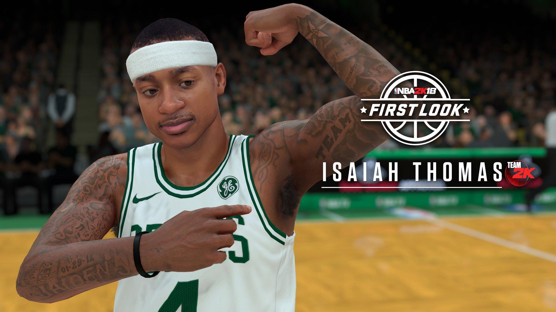 První screenshoty z NBA 2K18 147599