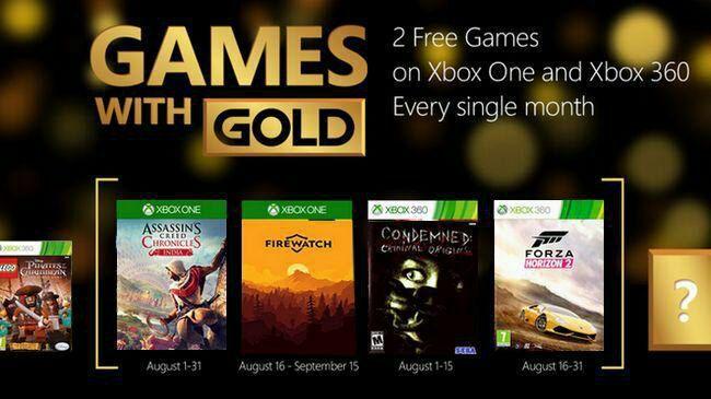 Jaké hry dostanou členové Xbox Live Gold v srpnu? 147605