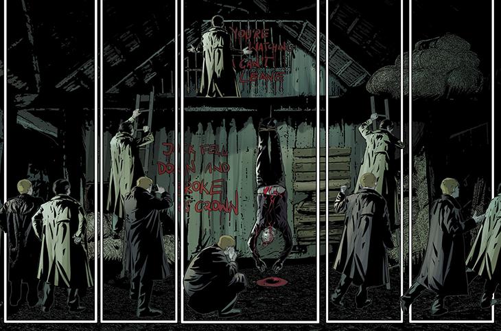 Komiks The Evil Within vyplní mezeru mezi prvním a druhým dílem 147624