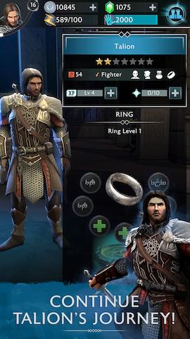 Middle-earth: Shadow of War doprovodí mobilní hra 147672