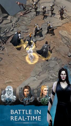 Middle-earth: Shadow of War doprovodí mobilní hra 147673