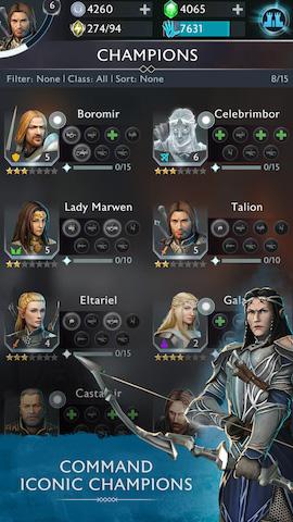 Middle-earth: Shadow of War doprovodí mobilní hra 147674
