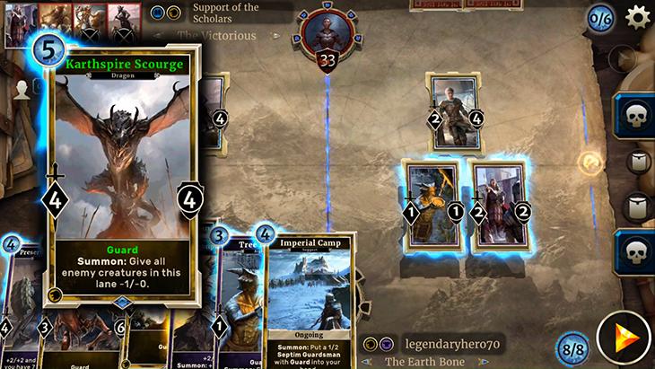 The Elder Scrolls: Legends je konečně možné hrát i na mobilech 147677