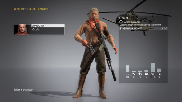 V FOB misích Metal Gear Solid V: The Phantom Pain si můžete zahrát i za Ocelota 147695