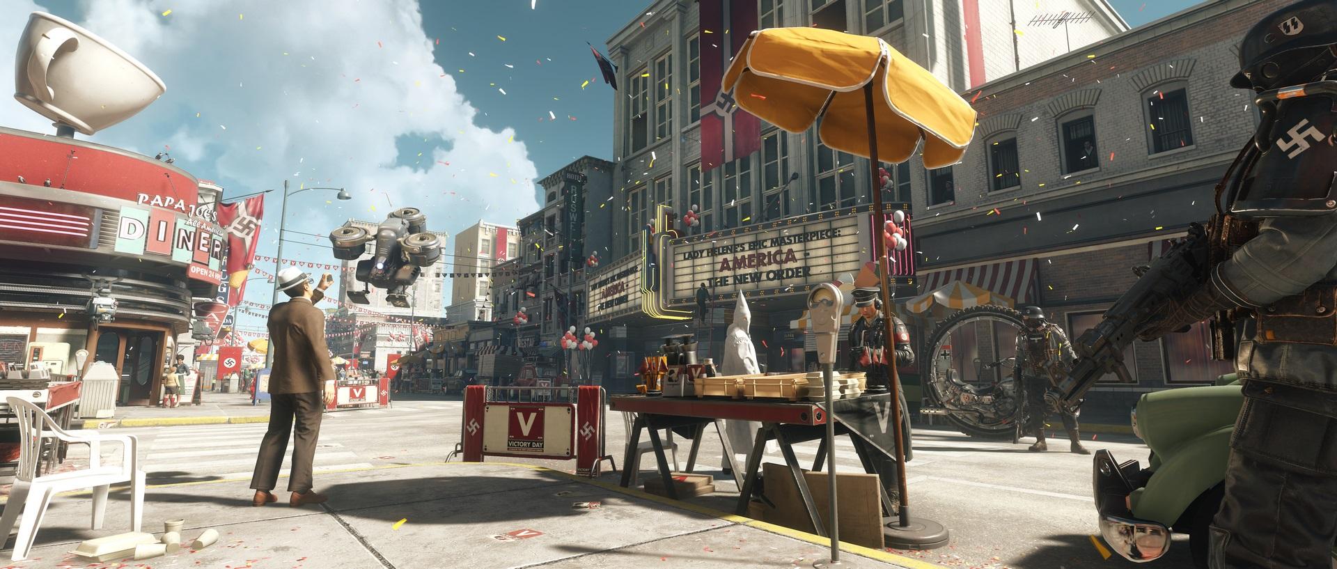 Wolfenstein 2: The New Colossus na nových screenshotech 147706
