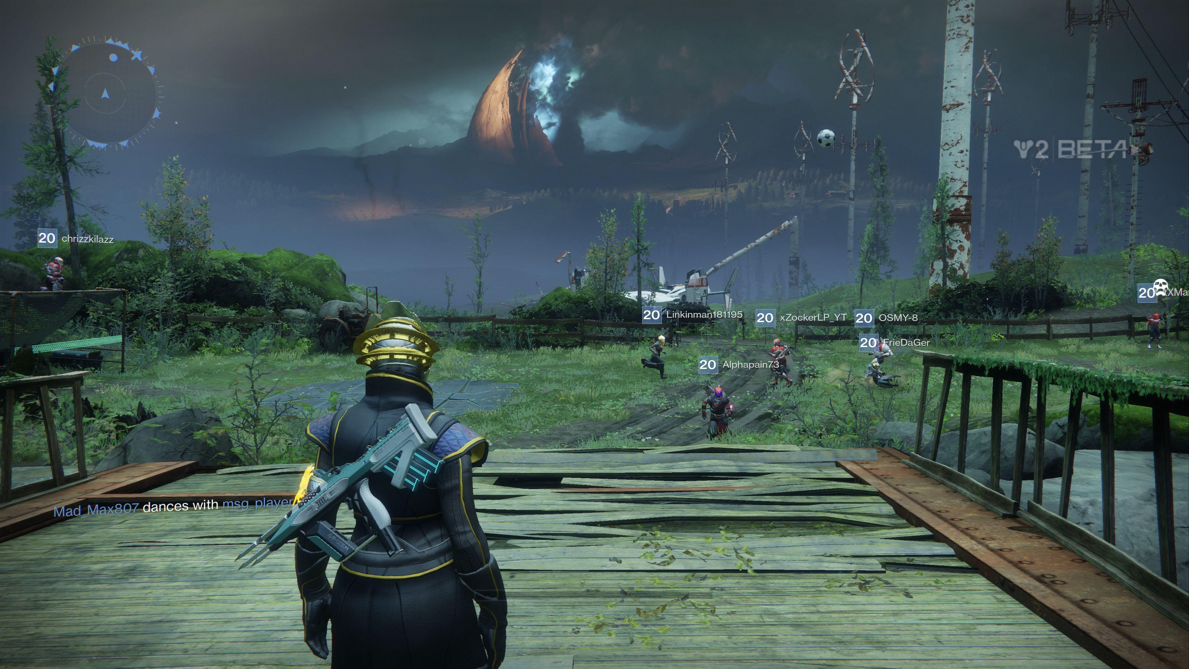 Dojmy z bety Destiny 2 + vlastní záběry s komentářem 147831