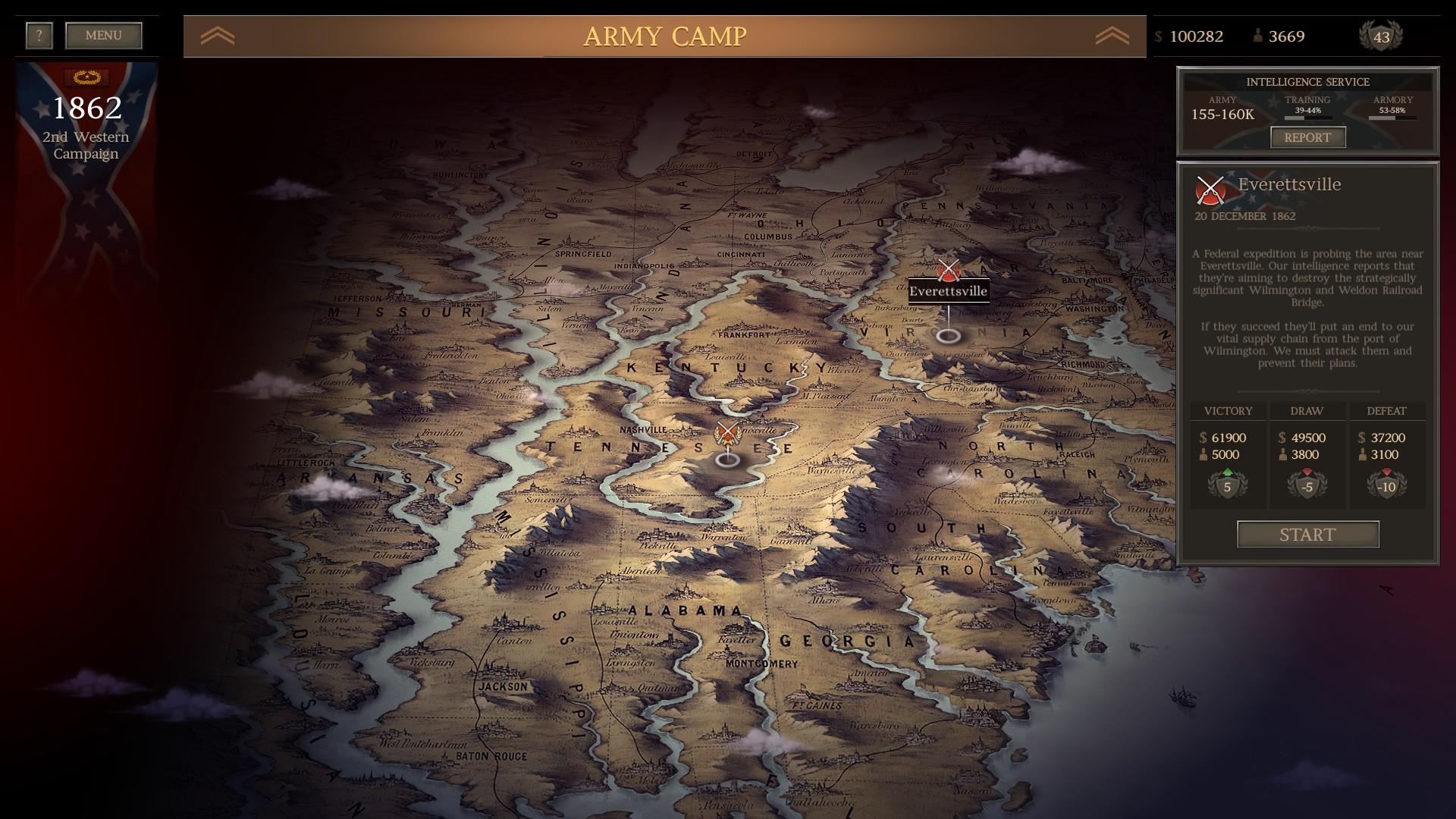 Ultimate General: Civil War – je čas změnit dějiny 147890