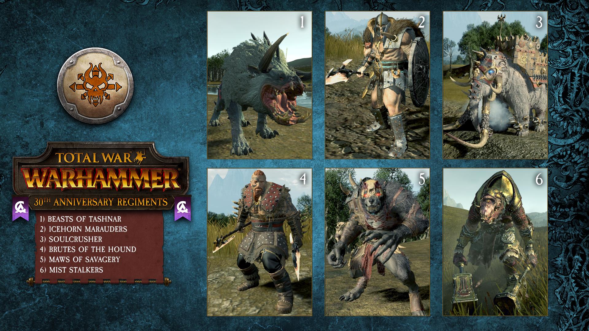 Hráči Total War: Warhammeru dostanou 30 jednotek 147905