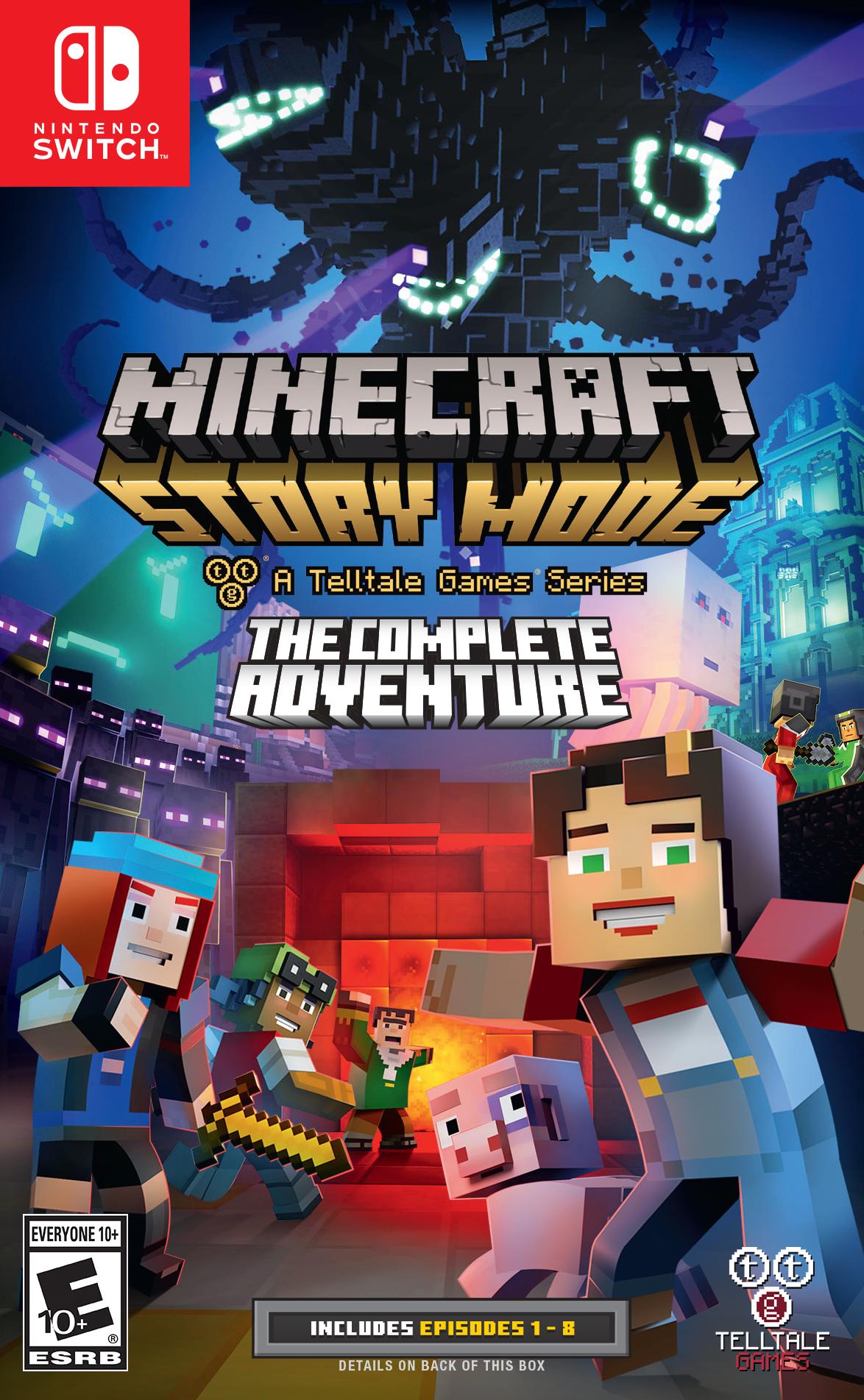 Minecraft: Story Mode vyjde 25. srpna i na Switch 147930
