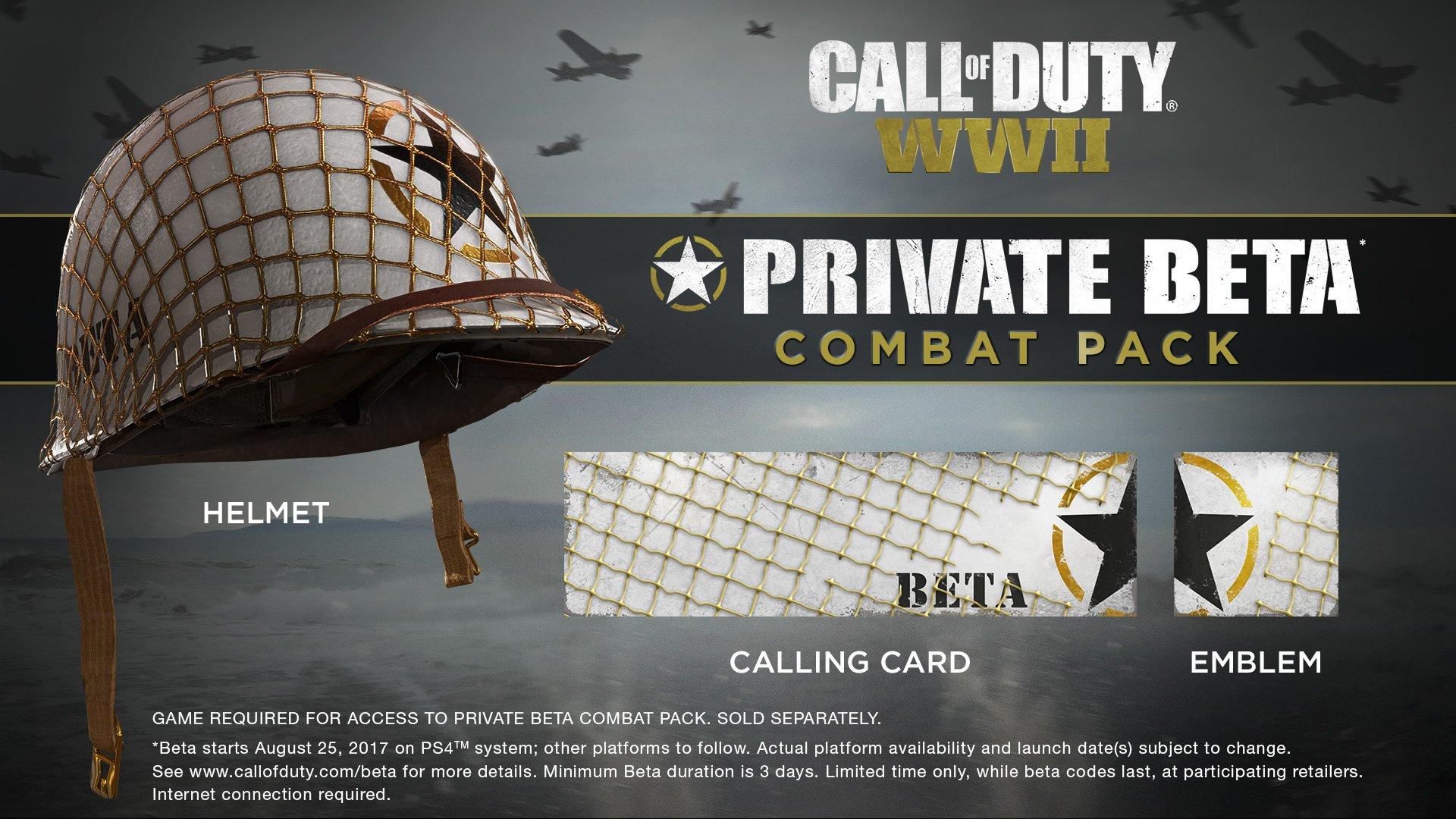 Účastníci bety Call of Duty: WW2 dostanou dárek 147931