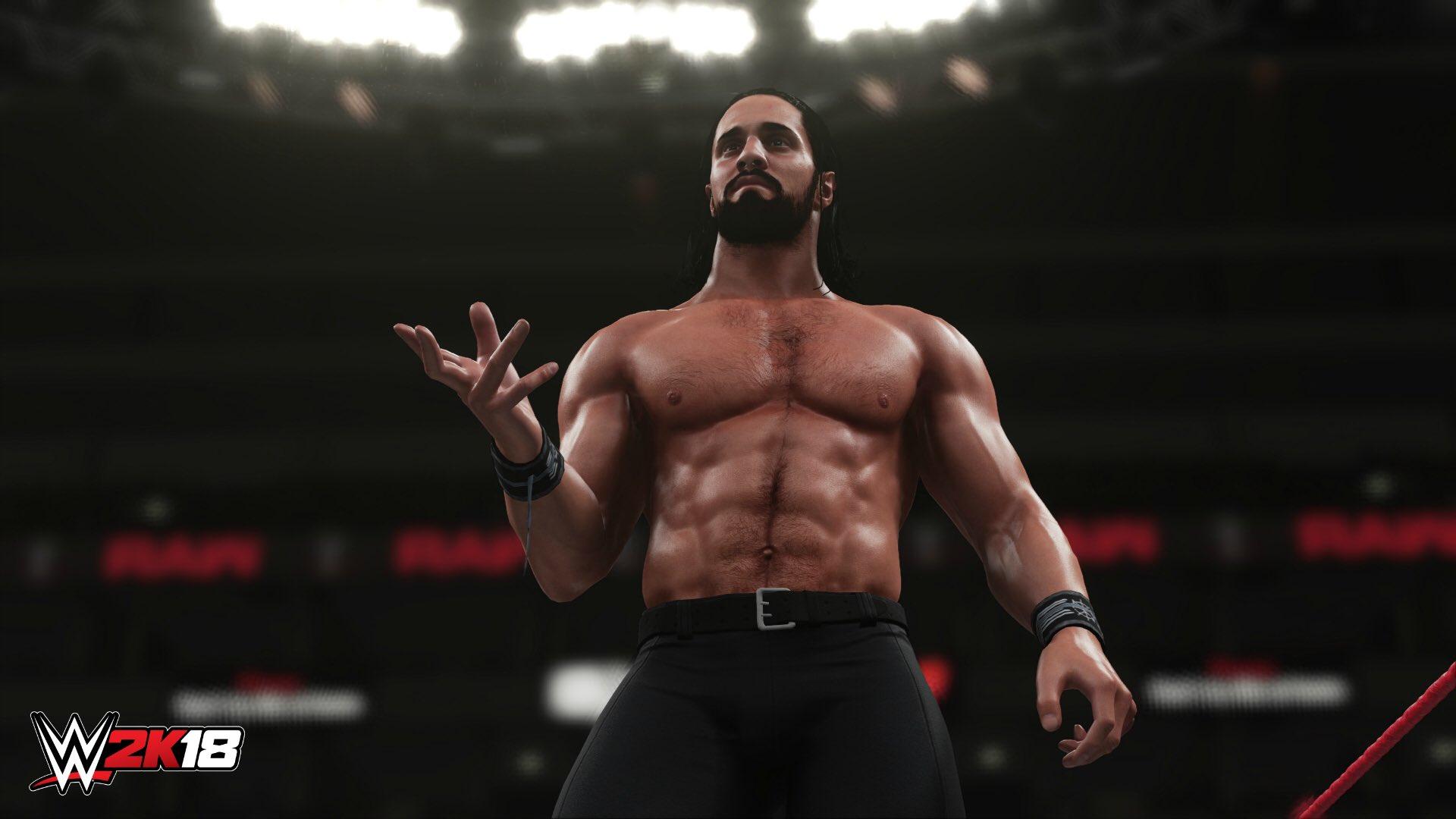 První obrázky z WWE 2K18 147998