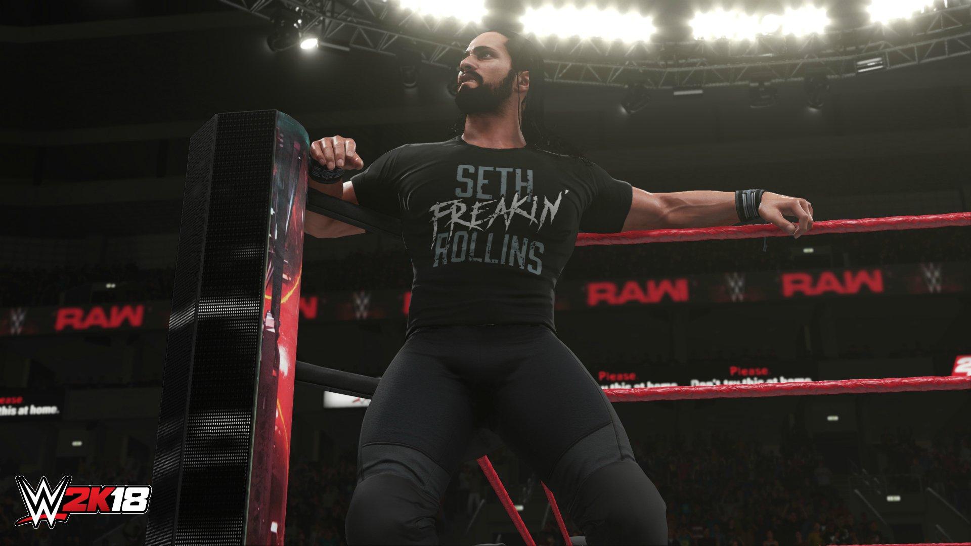 První obrázky z WWE 2K18 147999