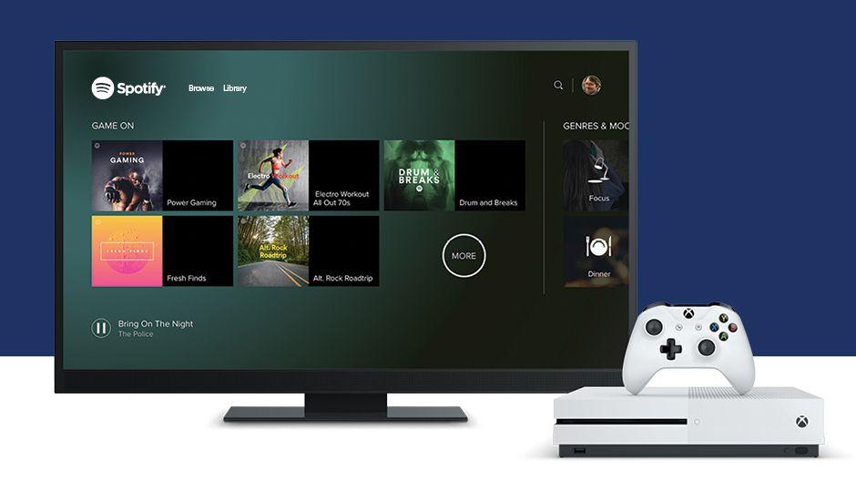 Na Xboxu One konečně můžete poslouchat Spotify 148209