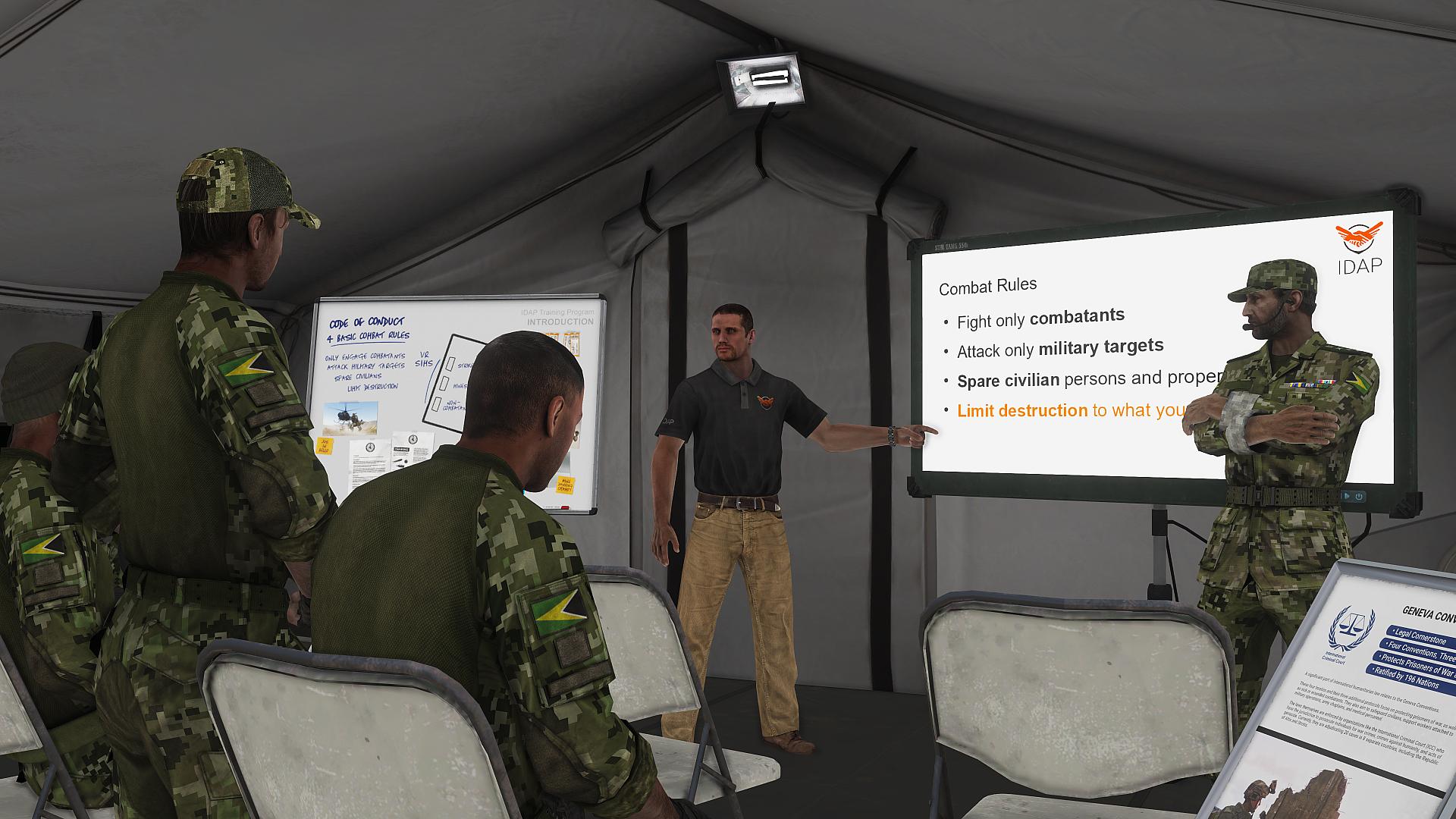 S DLC Laws of War pro Armu 3 poznáte bojiště z pohledu humanitární organizace 148222