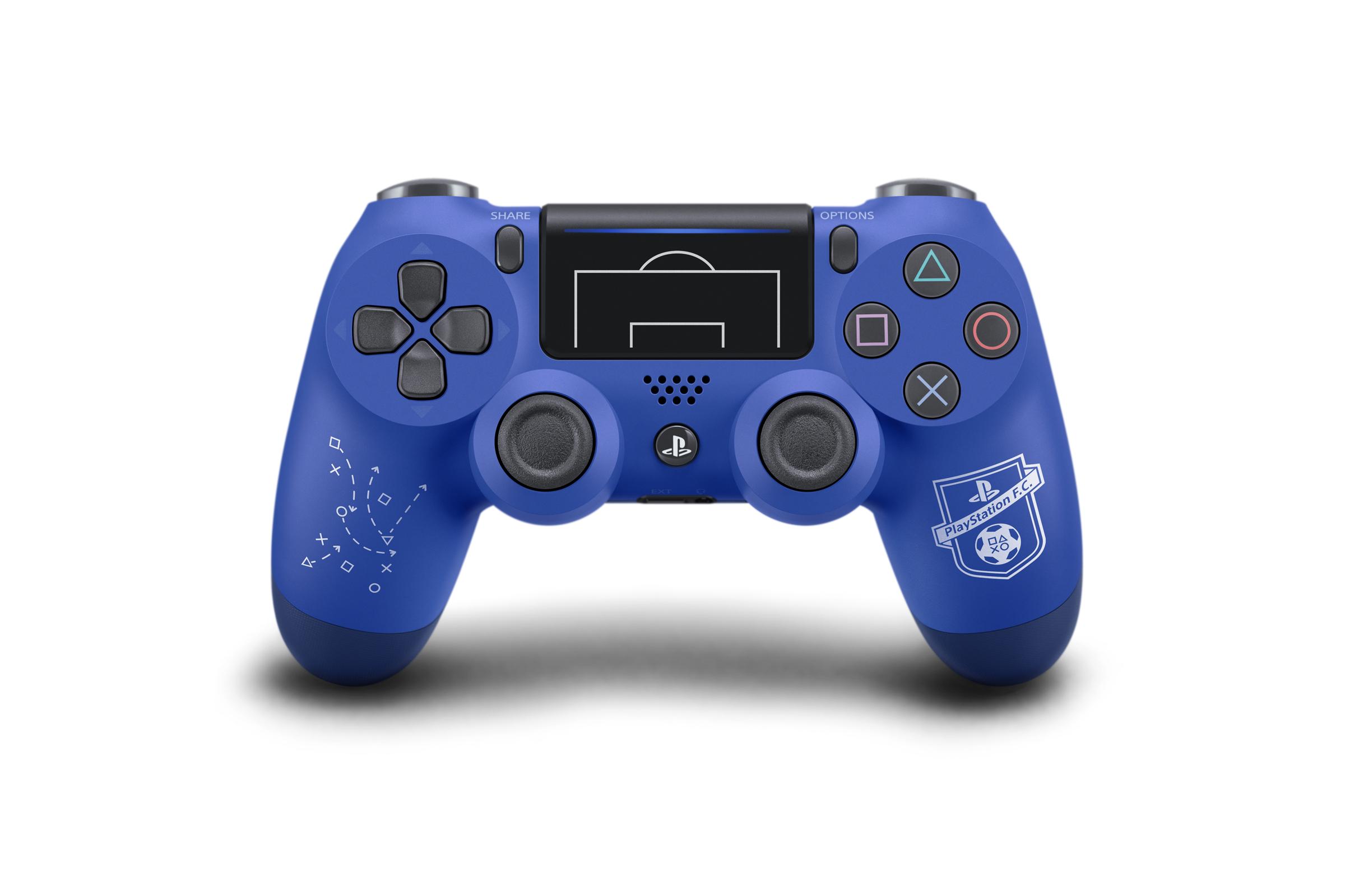 Nový vzhled DualShocku 4 má potěšit příznivce fotbalu 148250