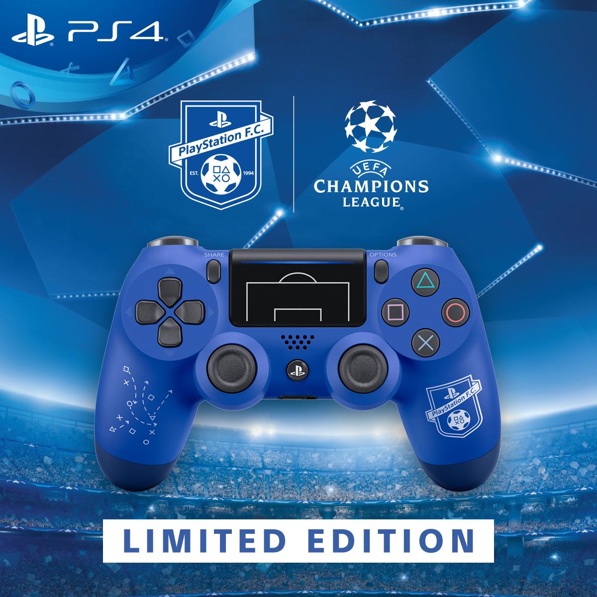 Nový vzhled DualShocku 4 má potěšit příznivce fotbalu 148253