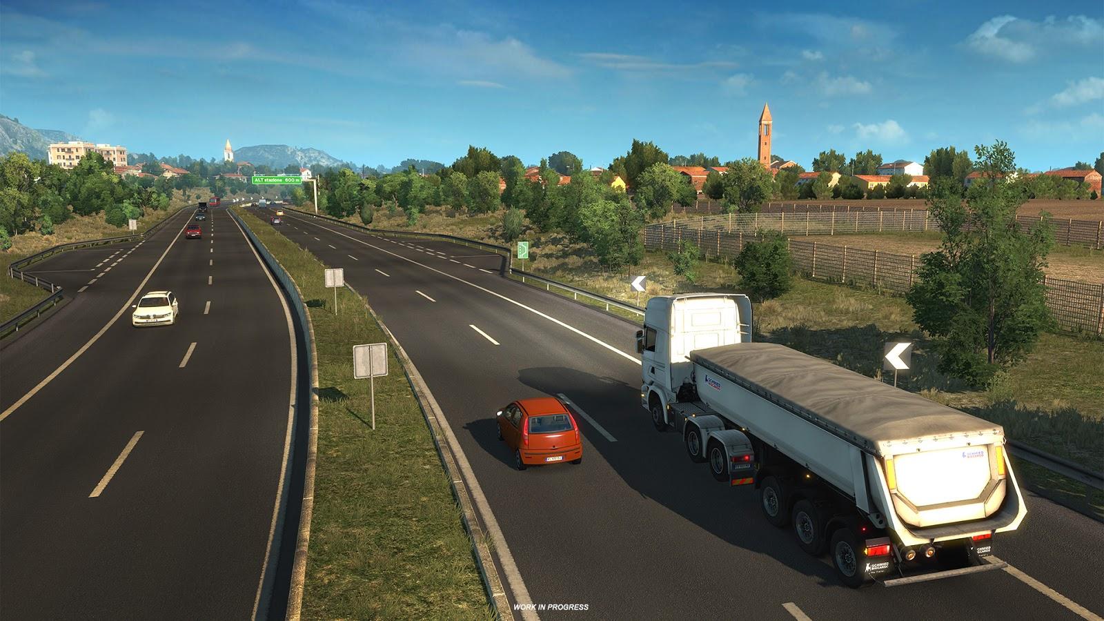 Po Francii bude v Euro Truck Simulatoru 2 kompletní i Itálie 148262