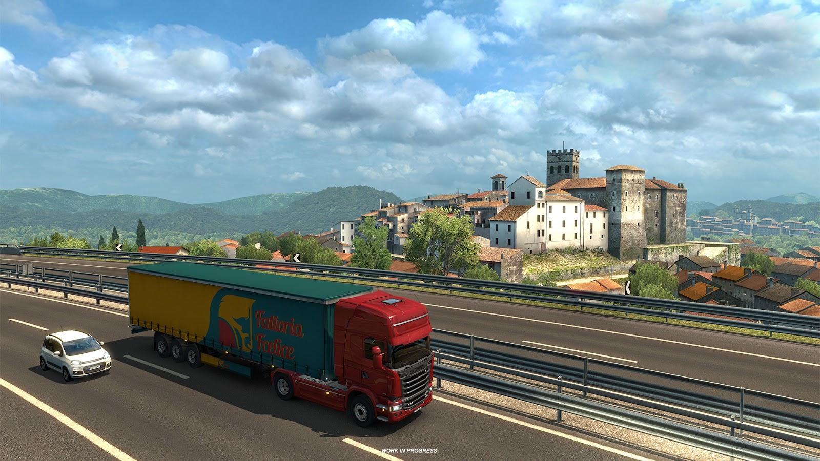 Po Francii bude v Euro Truck Simulatoru 2 kompletní i Itálie 148266