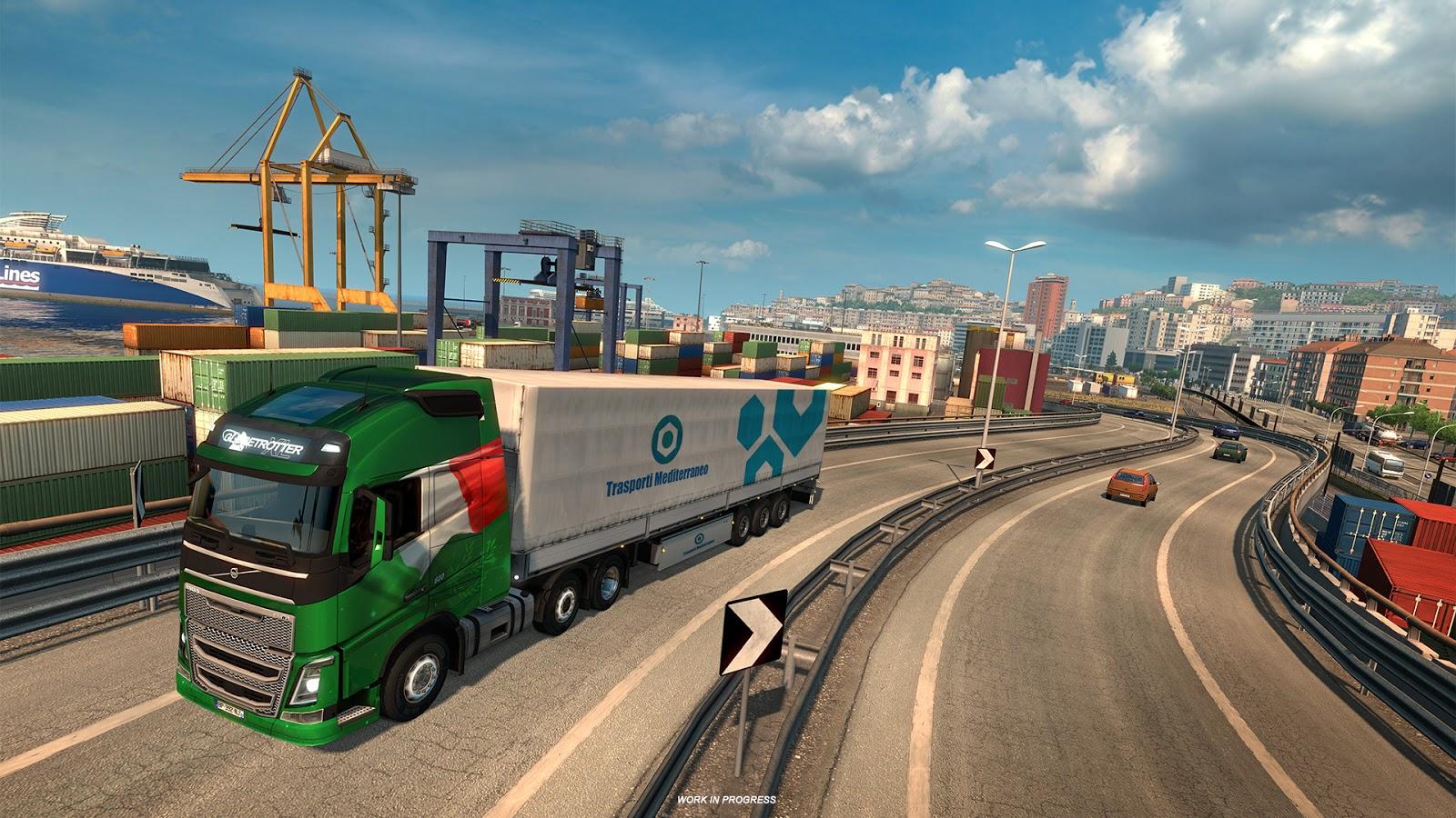 Po Francii bude v Euro Truck Simulatoru 2 kompletní i Itálie 148267