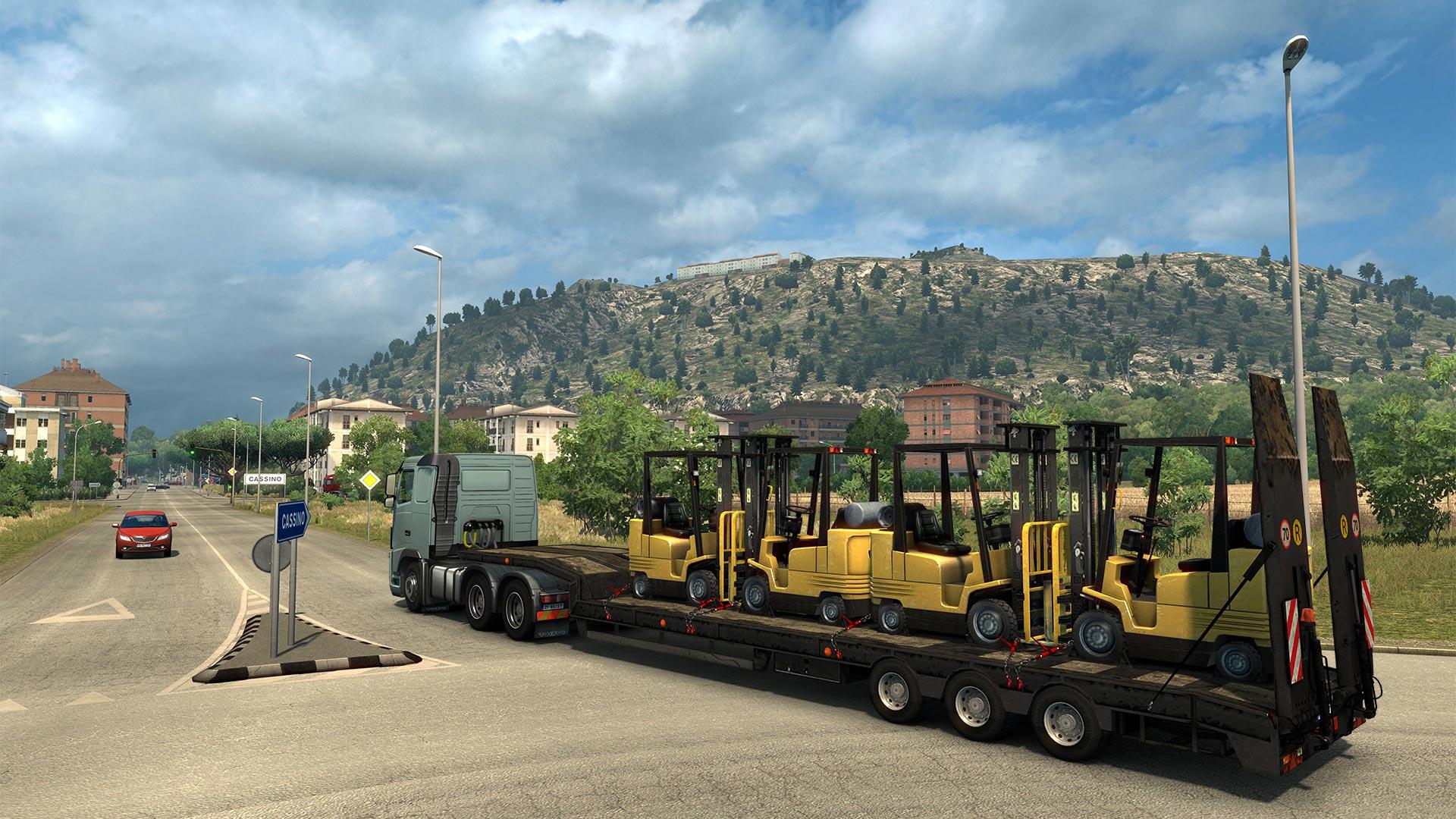 Po Francii bude v Euro Truck Simulatoru 2 kompletní i Itálie 148268