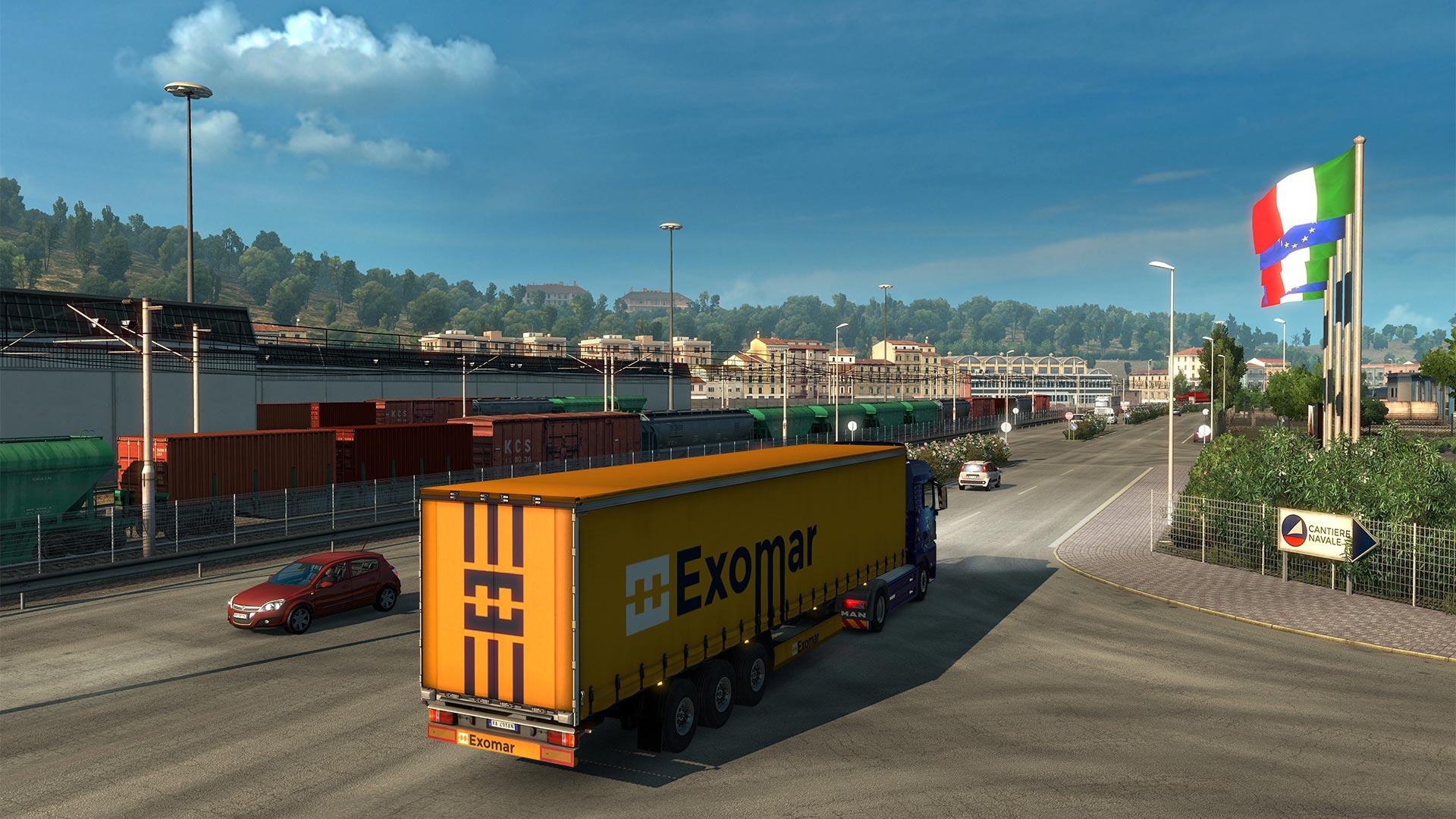 Po Francii bude v Euro Truck Simulatoru 2 kompletní i Itálie 148269