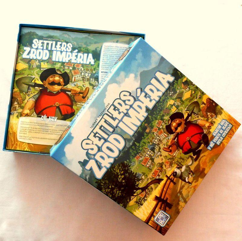 Deskovkový speciál - Settlers: Zrod impéria 148300