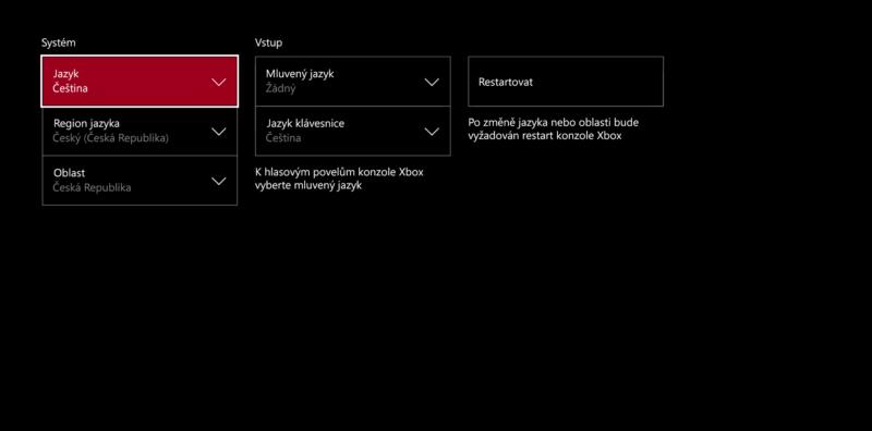 Majitelé Xboxu One bojují za český dashboard 148340