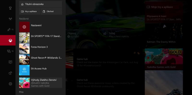 Majitelé Xboxu One bojují za český dashboard 148341