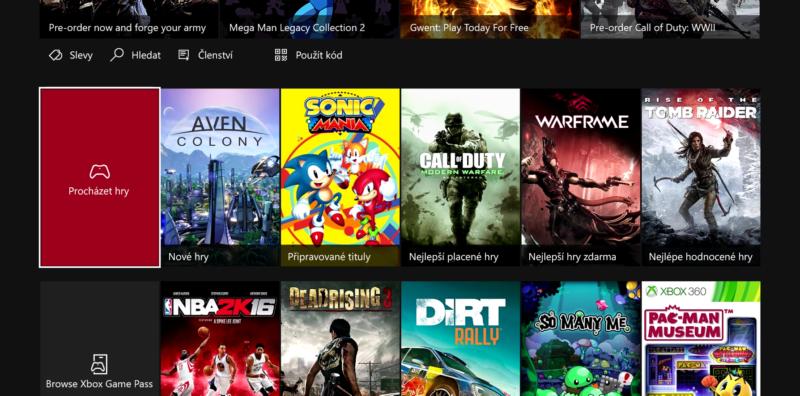 Majitelé Xboxu One bojují za český dashboard 148342