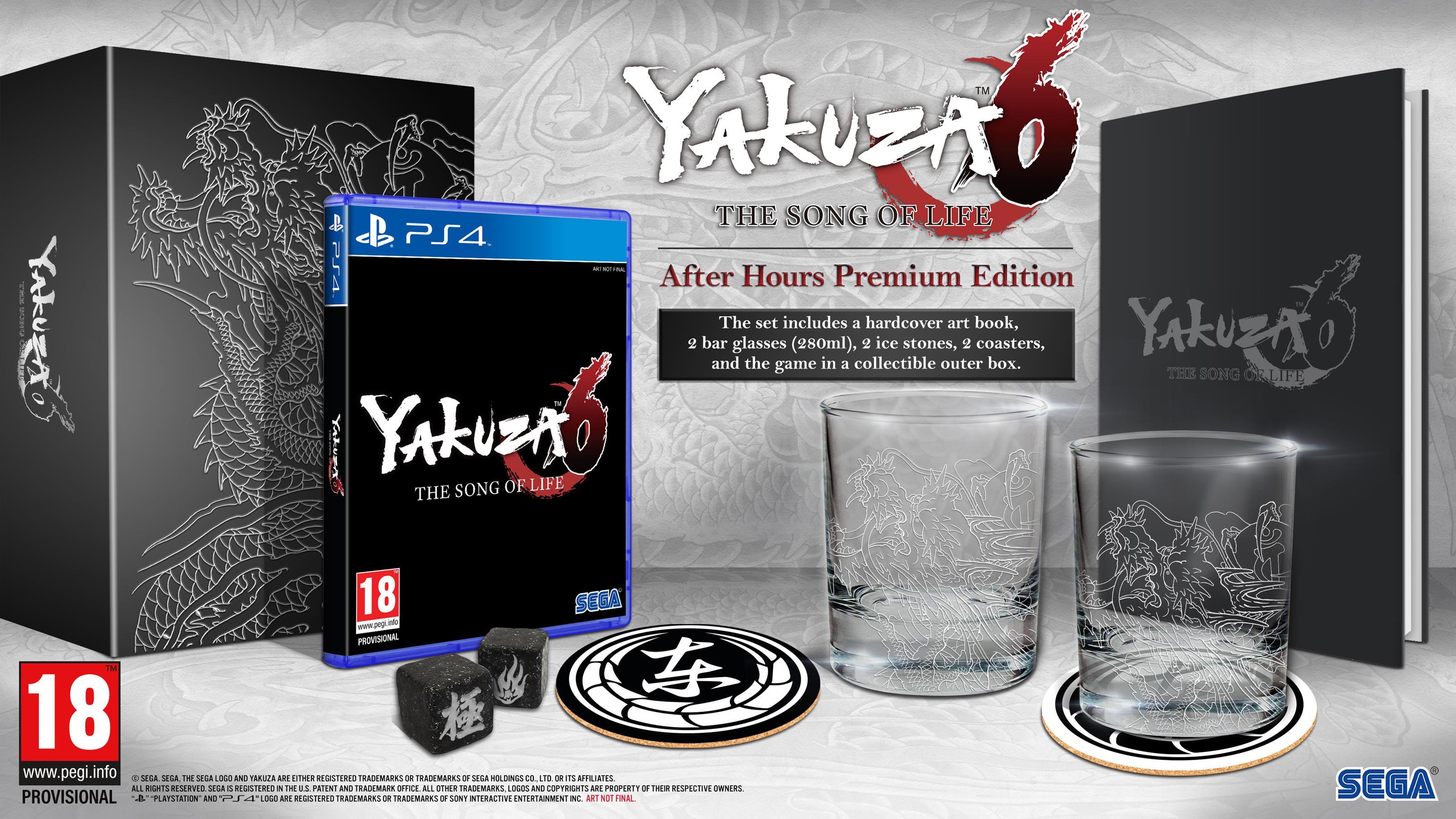 Datum vydání akce Yakuza 6 148517